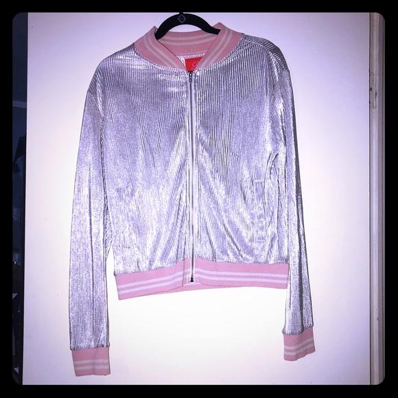 Chelsea & Violet Jackets & Blazers - NWT Chelsea & violet silver jacket